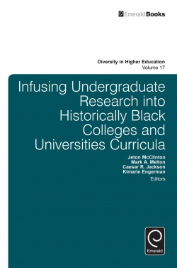Jacket image for Infusing Undergraduate Research into Historically Black Colleges and Universities Curricula