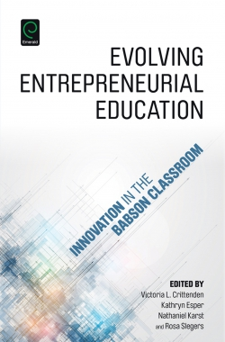 Jacket image for Evolving Entrepreneurial Education