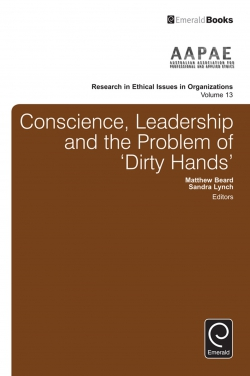 Jacket image for Conscience, Leadership and the Problem of 'Dirty Hands'