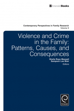 Jacket image for Violence and Crime in the Family