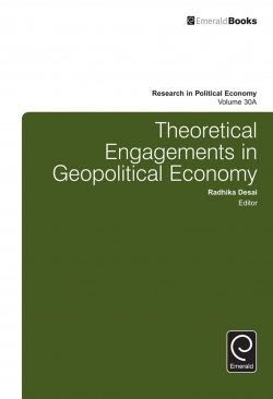 Jacket image for Theoretical Engagements in Geopolitical Economy
