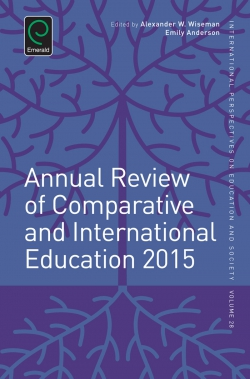 Jacket image for Annual Review of Comparative and International Education 2015