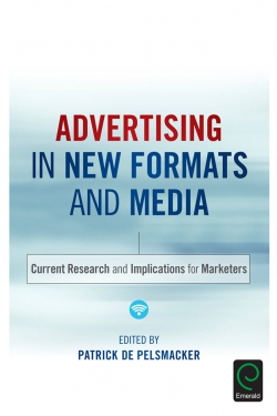Jacket image for Advertising in New Formats and Media