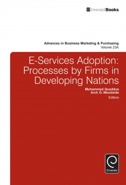 Jacket image for E-Services Adoption