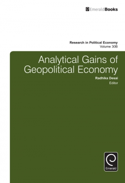 Jacket image for Analytical Gains of Geopolitical Economy