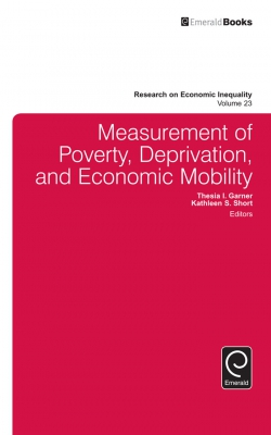 Jacket image for Measurement of Poverty, Deprivation, and Social Exclusion