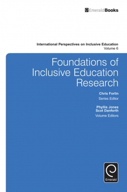 Jacket image for Foundations of Inclusive Education Research