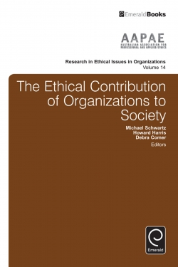 Jacket image for The Ethical Contribution of Organizations to Society