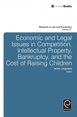 Jacket image for Economic and Legal Issues in Competition, Intellectual Property, Bankruptcy, and the Cost of Raising Children
