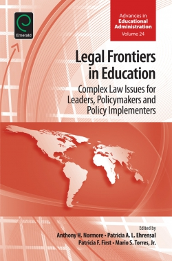 Jacket image for Legal Frontiers in Education