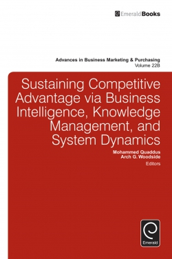 Jacket image for Sustaining Competitive Advantage via Business Intelligence, Knowledge Management, and System Dynamics