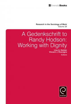 Jacket image for A Gedenkschrift to Randy Hodson