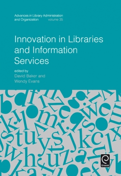 Jacket image for Innovation in Libraries and Information Services