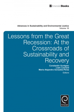 Jacket image for Lessons from the Great Recession
