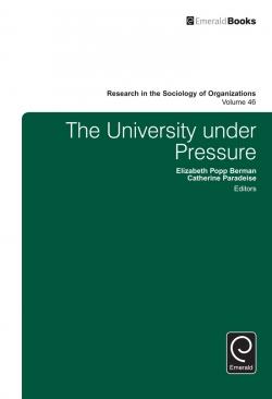 Jacket image for The University under Pressure
