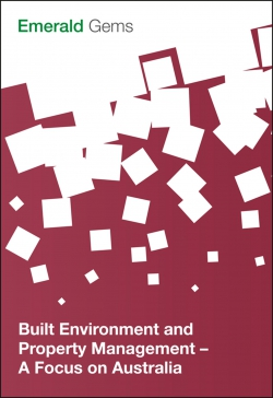 Jacket image for Built Environment and Property Management