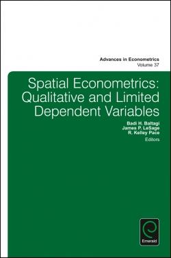 Jacket image for Spatial Econometrics