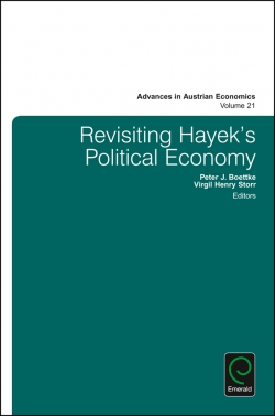 Jacket image for Revisiting Hayek's Political Economy