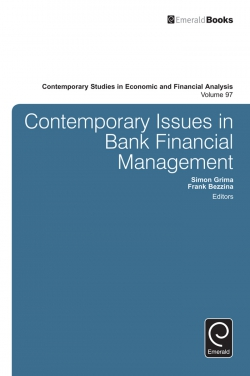 Jacket image for Contemporary Issues in Bank Financial Management