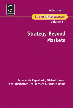 Jacket image for Strategy Beyond Markets
