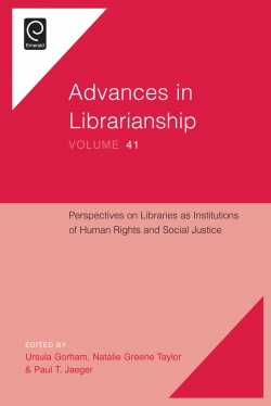 Jacket image for Perspectives on Libraries as Institutions of Human Rights and Social Justice