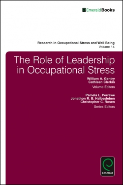 Jacket image for The Role of Leadership in Occupational Stress
