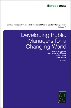 Jacket image for Developing Public Managers for a Changing World