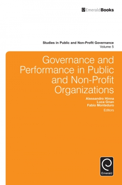 Jacket image for Governance and Performance in Public and Non-Profit Organizations