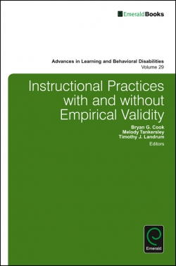 Jacket image for Instructional Practices with and without Empirical Validity