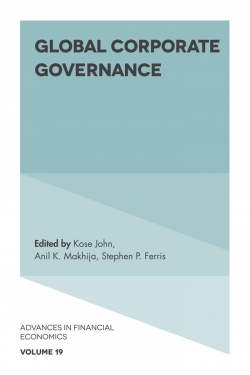 Jacket image for Global Corporate Governance