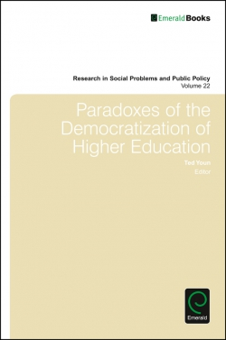 Jacket image for Paradoxes of the Democratization of Higher Education