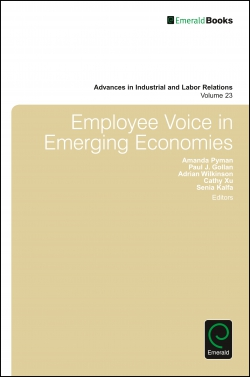 Jacket image for Employee Voice in Emerging Economies