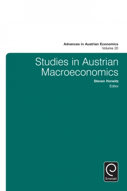 Jacket image for Studies in Austrian Macroeconomics