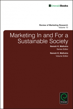 Jacket image for Marketing In and For a Sustainable Society