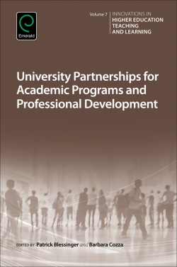 Jacket image for University Partnerships for Academic Programs and Professional Development