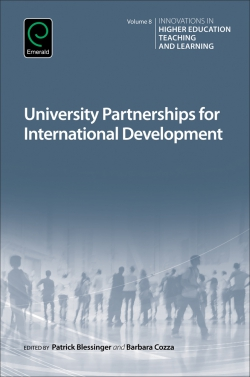 Jacket image for University Partnerships for International Development