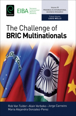 Jacket image for The Challenge of BRIC Multinationals
