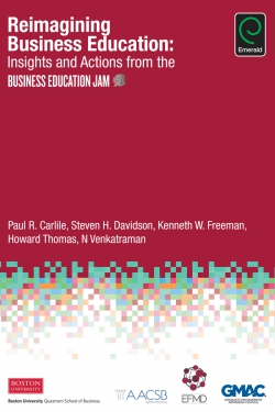 Jacket image for Reimagining Business Education