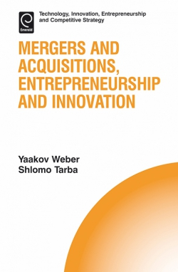 Jacket image for Mergers and Acquisitions, Entrepreneurship and Innovation