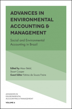Jacket image for Advances in Environmental Accounting & Management