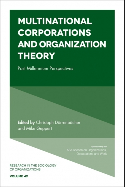 Jacket image for Multinational Corporations and Organization Theory