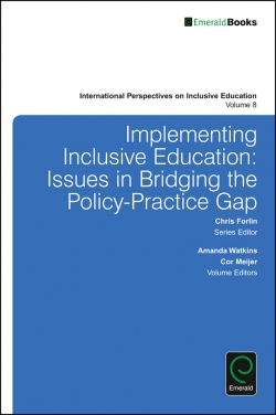 Jacket image for Implementing Inclusive Education