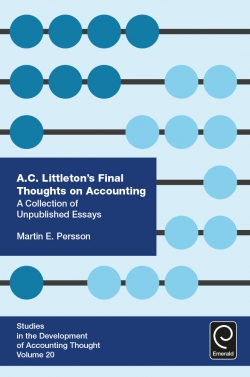 Jacket image for A. C. Littleton's Final Thoughts on Accounting