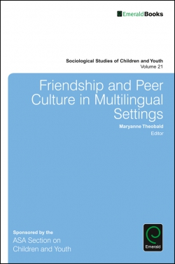 Jacket image for Friendship and Peer Culture in Multilingual Settings