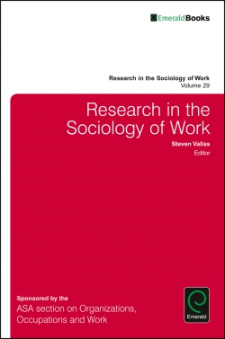 Jacket image for Research in the Sociology of Work