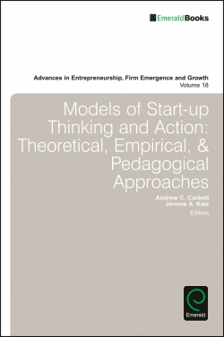 Jacket image for Models of Start-up Thinking and Action