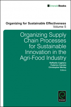 Jacket image for Organizing Supply Chain Processes for Sustainable Innovation in the Agri-Food Industry