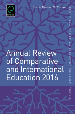 Jacket image for Annual Review of Comparative and International Education 2016