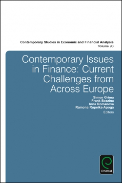 Jacket image for Contemporary Issues in Finance