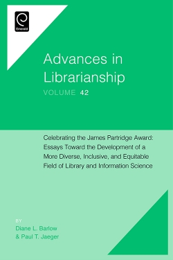 Jacket image for Celebrating the James Partridge Award